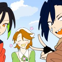 お花とウニと北山崎